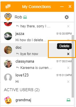 Delete Private Chats